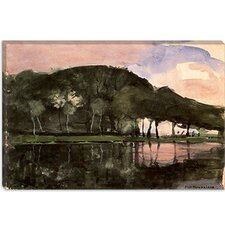 "<strong>iCanvasArt</strong> ""Along the Amstel, 1903"" Canvas Wall Art by Piet Mondrian"