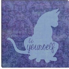 "<strong>iCanvasArt</strong> ""Cat"" Canvas Wall Art By Erin Clark"