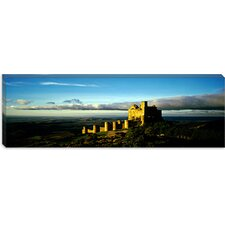 <strong>iCanvasArt</strong> Castle on a Hill, Loarre Castle, Huesca, Aragon, Spain Canvas Wall Art