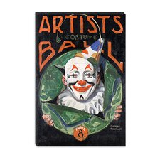"""Artists Costumer Ball"" Canvas Wall Art by Norman Rockwell"