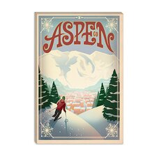 <strong>iCanvasArt</strong> Aspen, Colorado Canvas Wall Art
