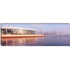 Building Structure Near The Lake, Shedd Aquarium, Chicago, Illinois Canvas Wall Art
