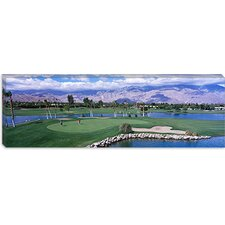 <strong>iCanvasArt</strong> Golf Course, Palm Springs, California Canvas Wall Art