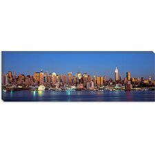 <strong>iCanvasArt</strong> New York City New York State Canvas Wall Art