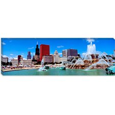 Summer, Chicago, Illinois Canvas Wall Art