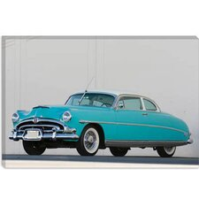 <strong>iCanvasArt</strong> 1953 Hudson Hornet Twin Power Canvas Wall Art