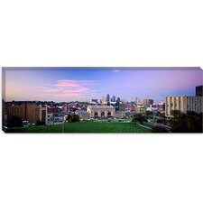 High Angle View Of A City, Kansas City, Missouri Canvas Wall Art