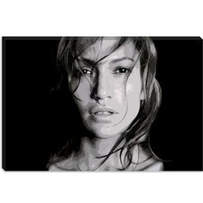 <strong>iCanvasArt</strong> Jennifer Lopez Canvas Wall Art