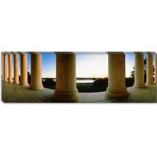 <strong>iCanvasArt</strong> Jefferson Memorial, Washington, D.C Canvas Wall Art