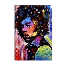 "<strong>iCanvasArt</strong> ""Jimi Hendrix IV"" Canvas Wall Art by Dean Russo"
