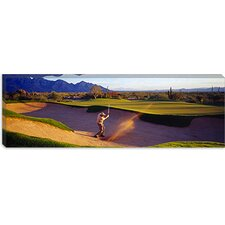 <strong>iCanvasArt</strong> Golf Course Tucson AZ USA Canvas Wall Art