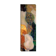 """Goldfish"" Canvas Wall Art by Gustav Klimt"