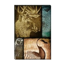 "<strong>iCanvasArt</strong> ""Hunting Season III"" Canvas Wall Art from Color Bakery"