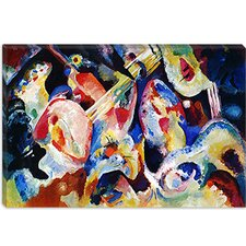 """Flood Improvisation"" Canvas Wall Art by Wassily Kandinsky Prints"