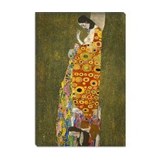 """Hope II 1907-1908"" Canvas Wall Art by Gustav Klimt"