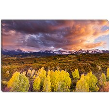 "<strong>iCanvasArt</strong> ""Epic Fall"" Canvas Wall Art by Dan Ballard"