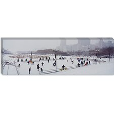 Bicentennial Park, Chicago, Illinois Canvas Wall Art