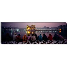 <strong>iCanvasArt</strong> Golden Temple, Amritsar, India Canvas Wall Art