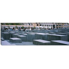 <strong>iCanvasArt</strong> Memorial to The Murdered Jews of Europe, Berlin, Germany Canvas Wall Art