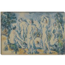 """Groupe de Baigneurs 1900"" Canvas Wall Art by Paul Cezanne"