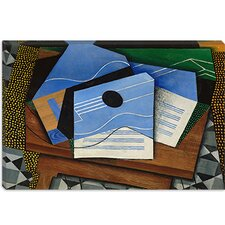 "<strong>iCanvasArt</strong> ""Guitar on a Table"" Canvas Wall Art by Juan Gris"
