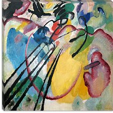 "<strong>iCanvasArt</strong> ""Improvisation 26 (Rowing)"" Canvas Wall Art by Wassily Kandinsky Prints"