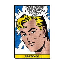 <strong>iCanvasArt</strong> In Love with Her (Roy Lichtenstein - Comic Books) Canvas Wall Art