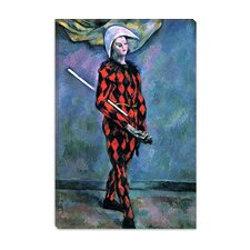 """Harlequin"" Canvas Wall Art by Paul Cezanne"