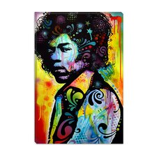 "<strong>iCanvasArt</strong> ""Hendrix"" Canvas Wall Art by Dean Russo"
