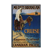 Empress of Scotland (Mediterranean Cruise from New York) Advertising Vintage Poster