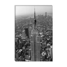 "<strong>iCanvasArt</strong> ""Empire State Building (New York City)"" Canvas Wall Art by Christopher Bliss"