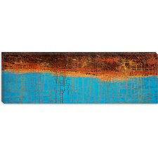 "<strong>iCanvasArt</strong> ""Electrical Charge X"" Canvas Wall Art by Hilary Winfield"
