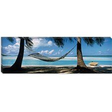<strong>iCanvasArt</strong> Cook Islands South Pacific Canvas Wall Art