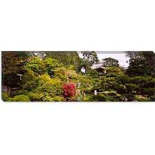 <strong>iCanvasArt</strong> Japanese Tea Garden in Golden Gate Park, San Francisco, California Canvas Wall Art