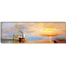 "<strong>iCanvasArt</strong> ""Fighting Temeraire"" Panoramic Canvas Wall Art by Joseph William Turner"