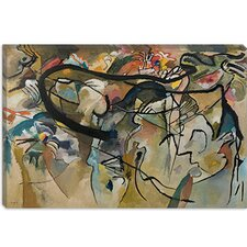 """Composition V"" Canvas Wall Art by Wassily Kandinsky Prints"
