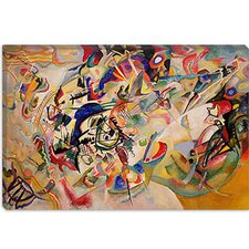 """Composition VII"" Canvas Wall Art by Wassily Kandinsky Prints"