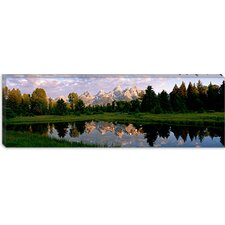 <strong>iCanvasArt</strong> Grand Teton Park, Wyoming Canvas Wall Art