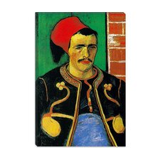 """Der Zuave (Halbfigur)"" Canvas Wall Art by Vincent van Gogh"