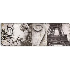 "<strong>iCanvasArt</strong> ""Details from Paris II"" Canvas Wall Art by Pela and Silverman"
