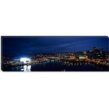 <strong>iCanvasArt</strong> Heinz Field, Pittsburgh, Allegheny County, Pennsylvania Canvas Wall Art