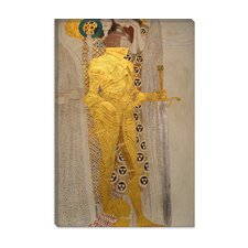 "<strong>iCanvasArt</strong> ""Knight Detail from the Beethoven Frieze 1902"" Canvas Wall Art by Gustav Klimt"