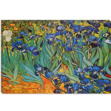"<strong>iCanvasArt</strong> ""Irises"" Canvas Wall Art by Vincent Van Gogh"