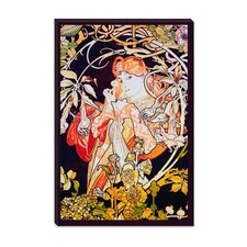 """Ivy"" Canvas Wall Art by Alphonse Mucha"
