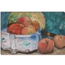 """Fruit Bowl"" Canvas Wall Art by Paul Cezanne"