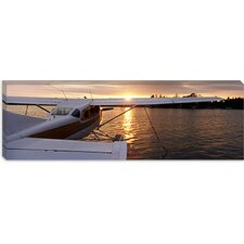 Sea Plane Lake Spenard, Anchorage, Alaska Canvas Wall Art
