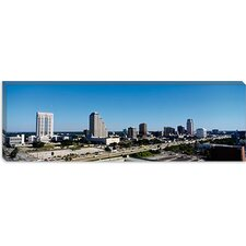 <strong>iCanvasArt</strong> High Angle View of Buildings in a City, Orlando, Florida Canvas Wall Art