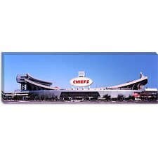 Football Stadium, Arrowhead Stadium, Kansas City, Missouri Canvas Wall Art