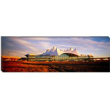 <strong>iCanvasArt</strong> Denver International Airport, Denver, Colorado Canvas Wall Art