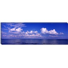 Clouds over the Sea, Tampa Bay, Gulf of Mexico, Anna Maria Island, Manatee County, Florida Canvas Wall Art